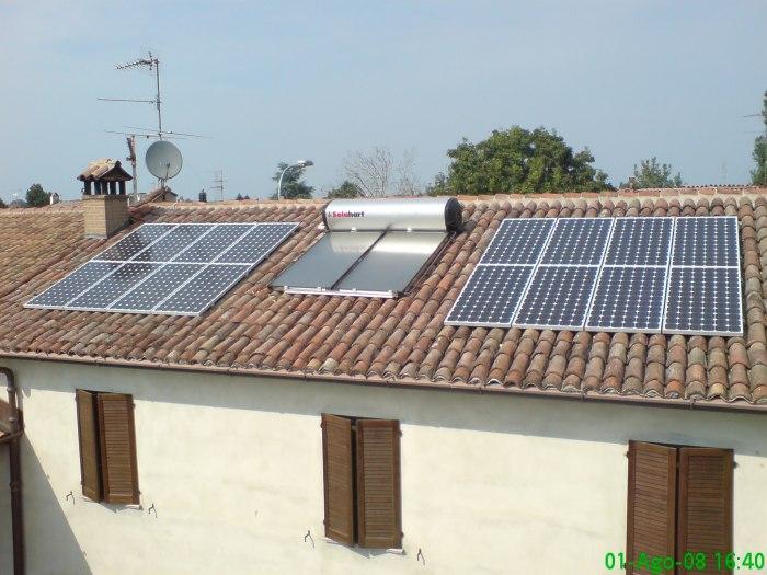Pannello Solare Termico Integrato : Solar point santimento impianto solare termico e